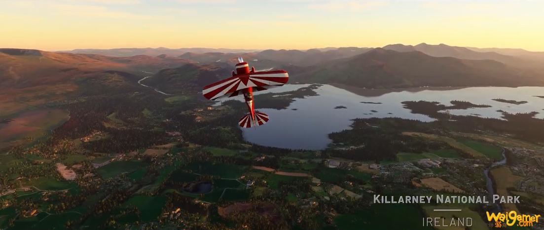 《微软飞行模拟》英国/爱尔兰更新上线 宣传片释出