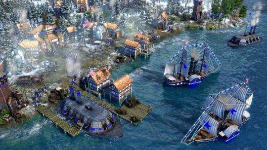 《帝国时代3:决定版》美国DLC上线 全新时代升级机制