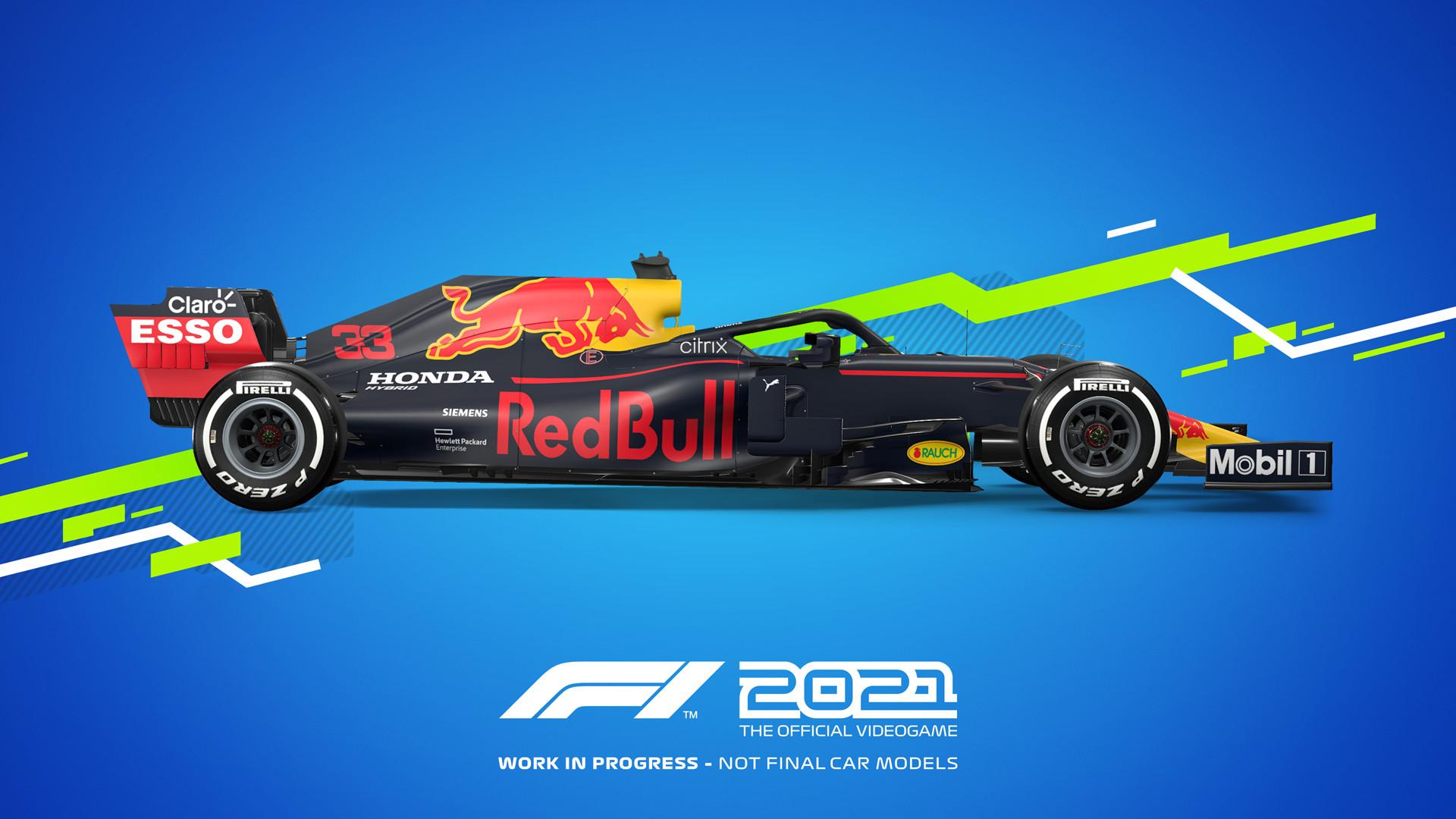 《F1 2021》配置公布 推荐1660 Ti