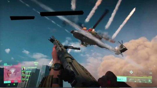 《战地6》A测版实机截图泄露 直升机、坦克等现代武器登场