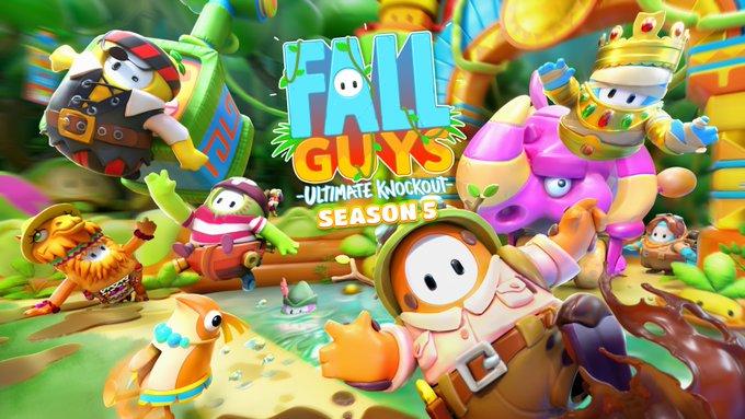 《Fall  Guys:终极淘汰赛》新赛季新关卡 限时双排三排以及特殊活动