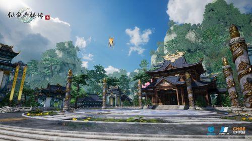 《仙剑奇侠传七》新截图公布 10月12日上线