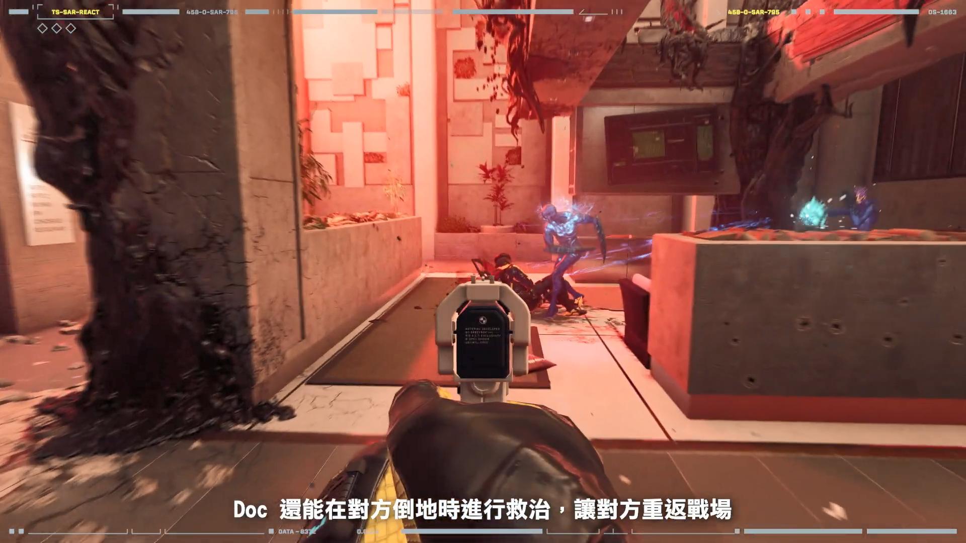"""《虹彩六号:异种》新乾员""""DOC""""介绍 激素手枪强化队友"""